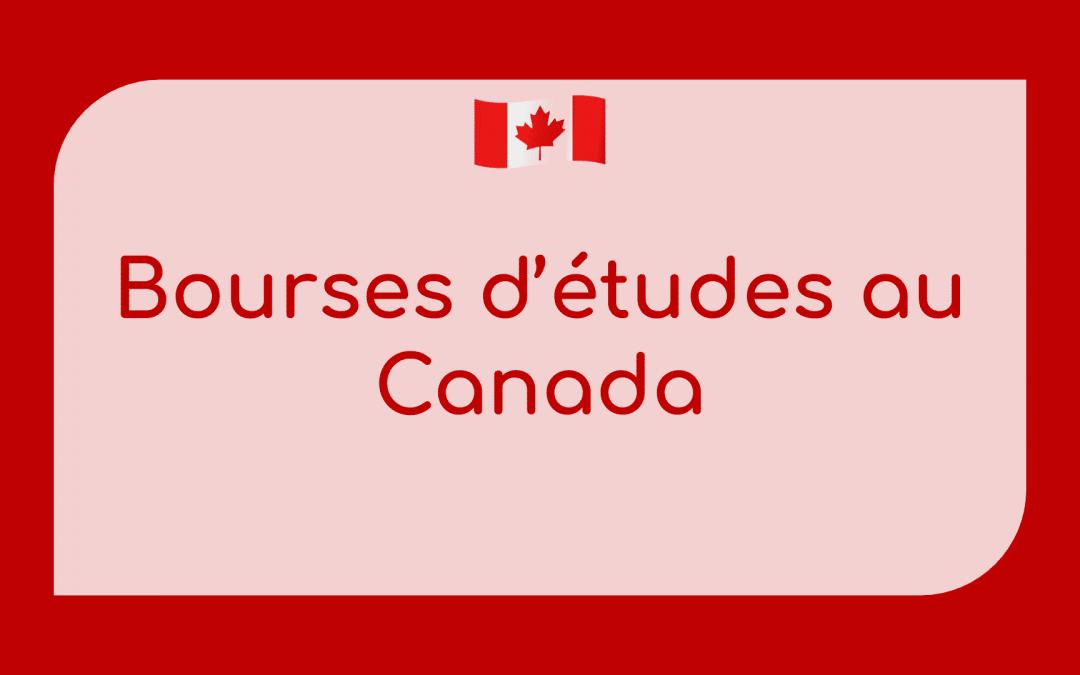 Offre de bourse d'étude au canada 2021-2022