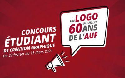 Concours : création du logo du 60ème anniversaire de l'AUF