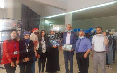 Le Club Ibdaa organise une exposition d'art pour révéler les talents artistiques à l'Université de Blida 1, Saad Dahlab.